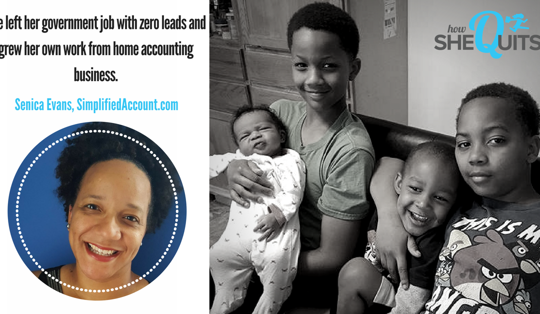 Behind the Scenes with a Successful Freelance Accountant and Busy Mom of 4