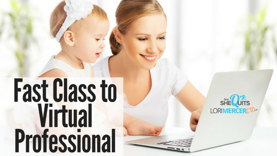 Fast Class to Virtual Professional