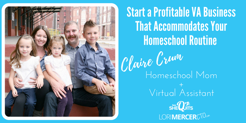 Start a Profitable VA Business That Accommodates Your  Homeschool Routine