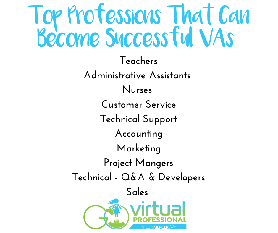 Top Professions That Can Become Successful VA's