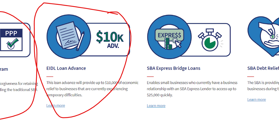 What SBA Loans Can Help Virtual Professionals in April 2020