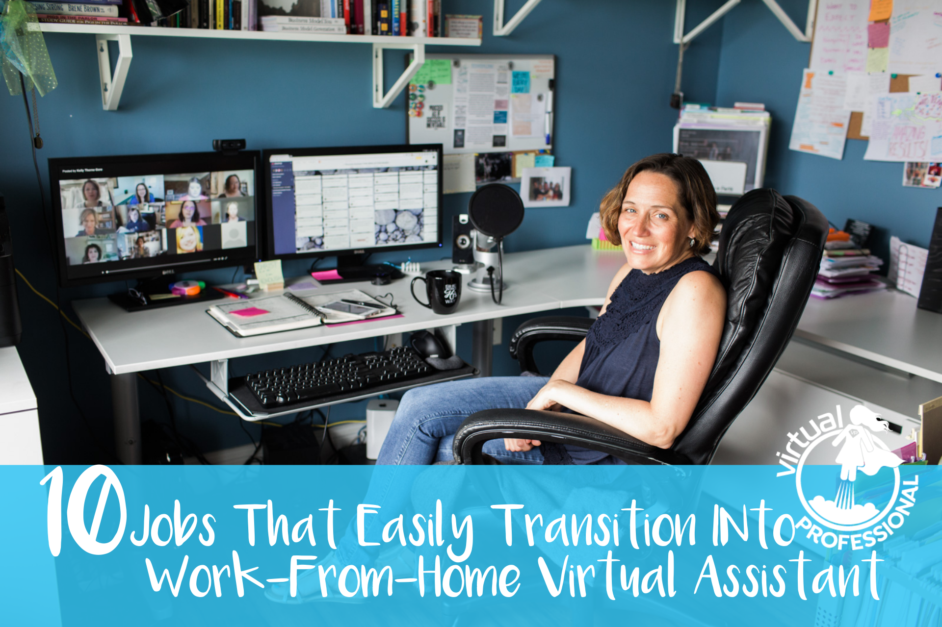 10 jobs that can transition to work-from-home virtual assistant jobs