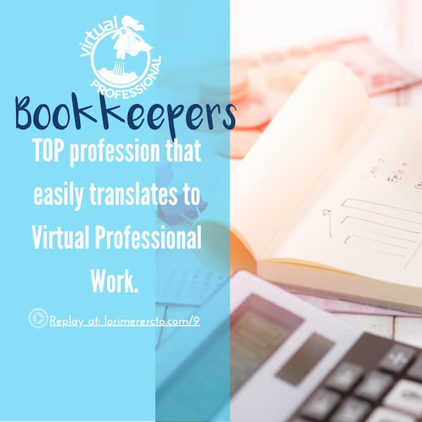 bookkeeper jobs transition to work from home work